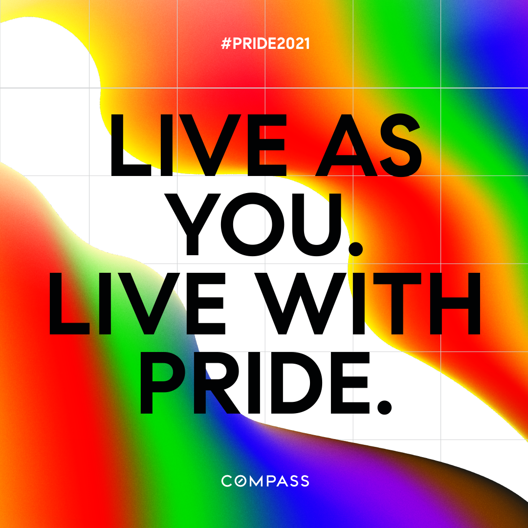 Live as you. Live with Pride.
